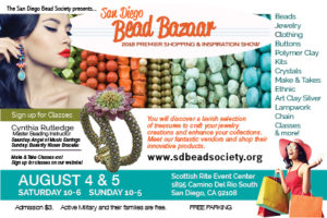 Save the date for our 19th Annual Bead Bazaar!