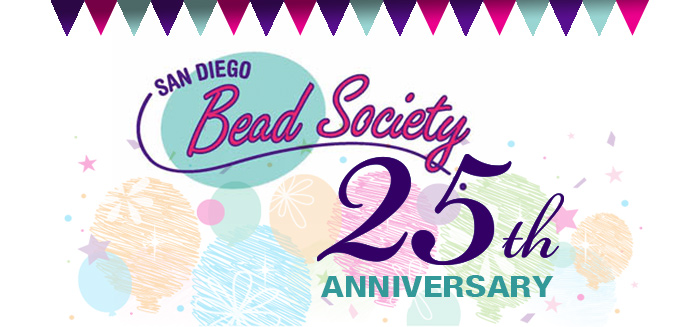 It's the San Diego Bead Society Annual Potluck November 17th