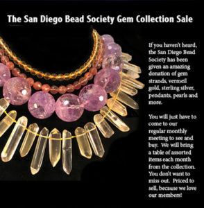 Come see and shop this beautiful collection of gems, that were donated to the SDBS.
