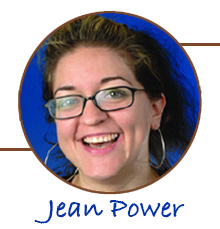 Zooming to us from the U.K., is Jean Power on Saturday, June 20th