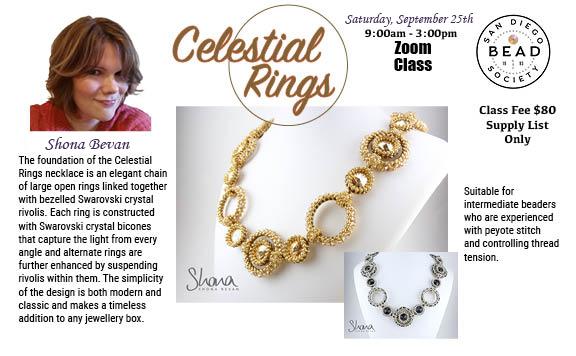 """Celestial Rings"" with Shona Bevan"