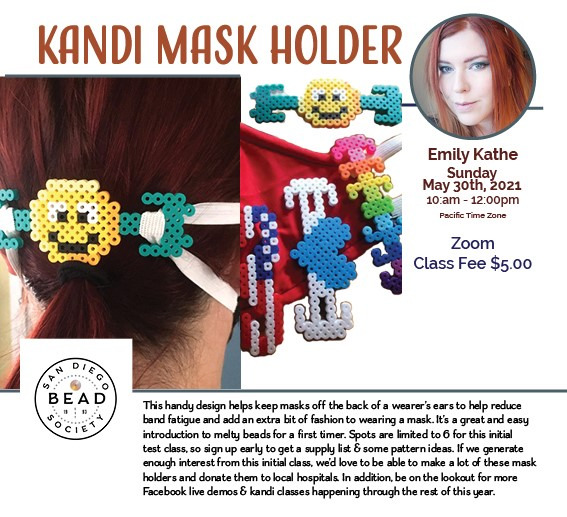 """Perler Mask Holders"" with Emily Kathe"