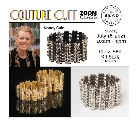 """""""Couture Cuff"""" with Nancy Cain"""