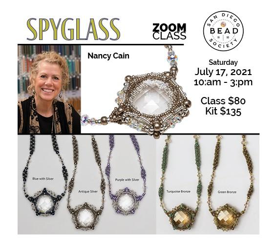 """""""Spy Glass"""" with Nancy Cain"""